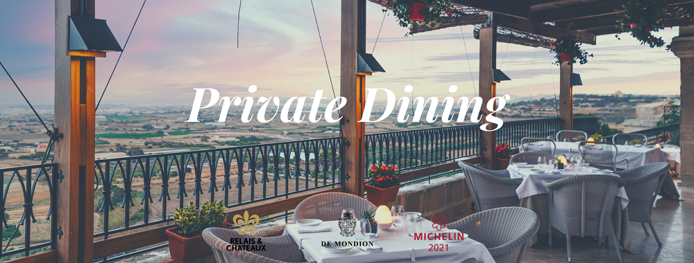 Private Dining at The de Mondion
